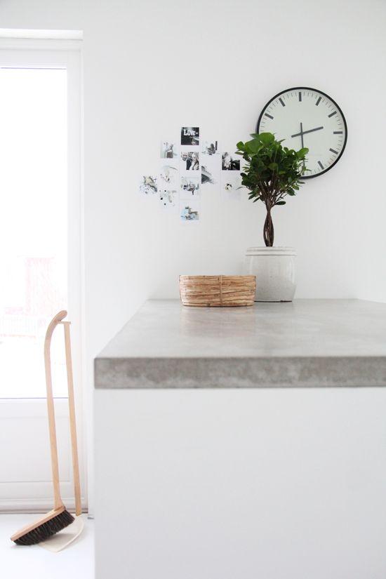 keittiön betonitaso